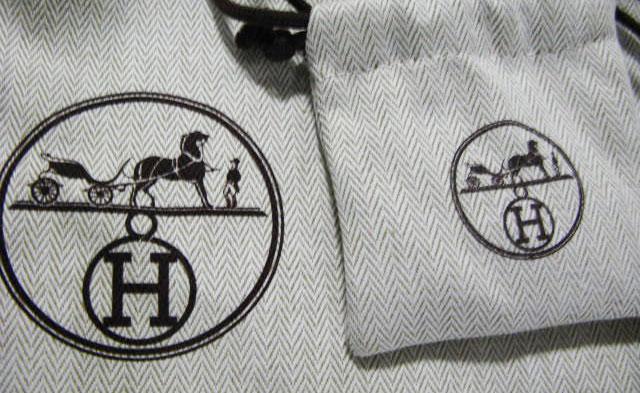 Hermes Dust Bag Logo 1