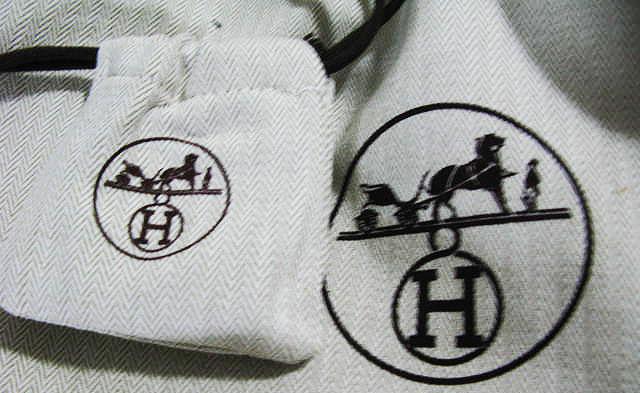 Hermes Dust Bag Logo 2