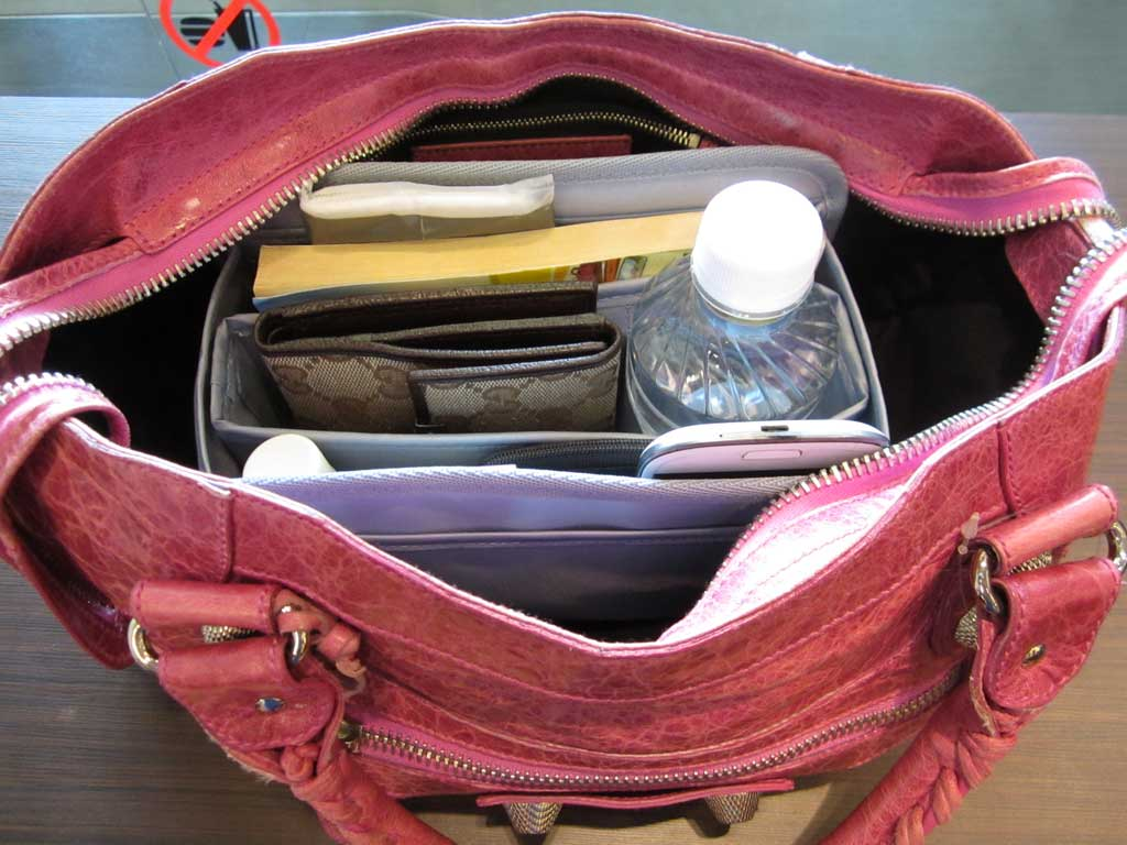 Purse-Organizer-Insert-for-Balenciaga-City-1