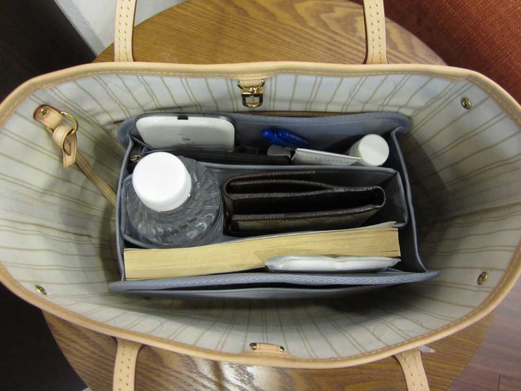 purse organizer insert for louis vuitton neverfull pm  photo