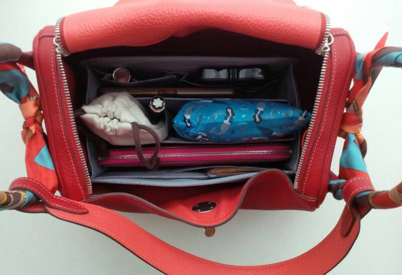 Purse Organizer for Hermes Lindy 30