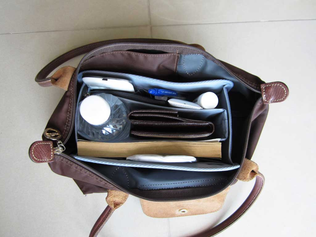 Purse Organizer Insert For Longchamp Le Pliage Medium Long