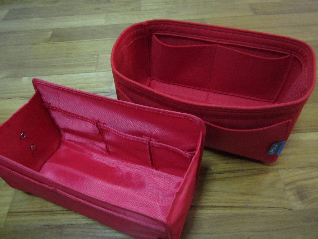 Samorga vs CloverSac purse organizer reviews-5
