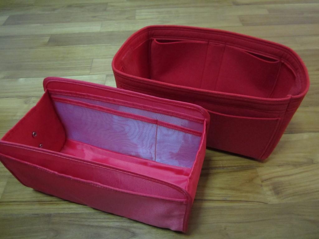 Samorga vs CloverSac purse organizer reviews-6