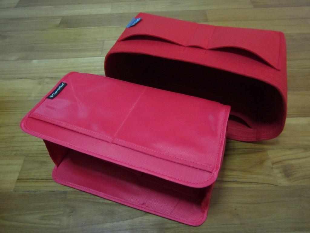 Samorga vs CloverSac purse organizer reviews-8