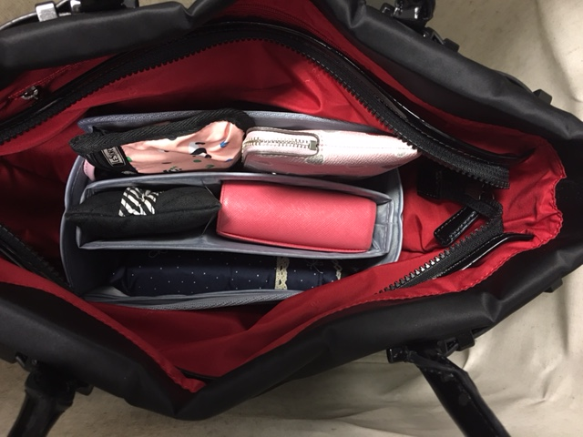 Purse Organizer Insert for Agnès B handbag (Photo)