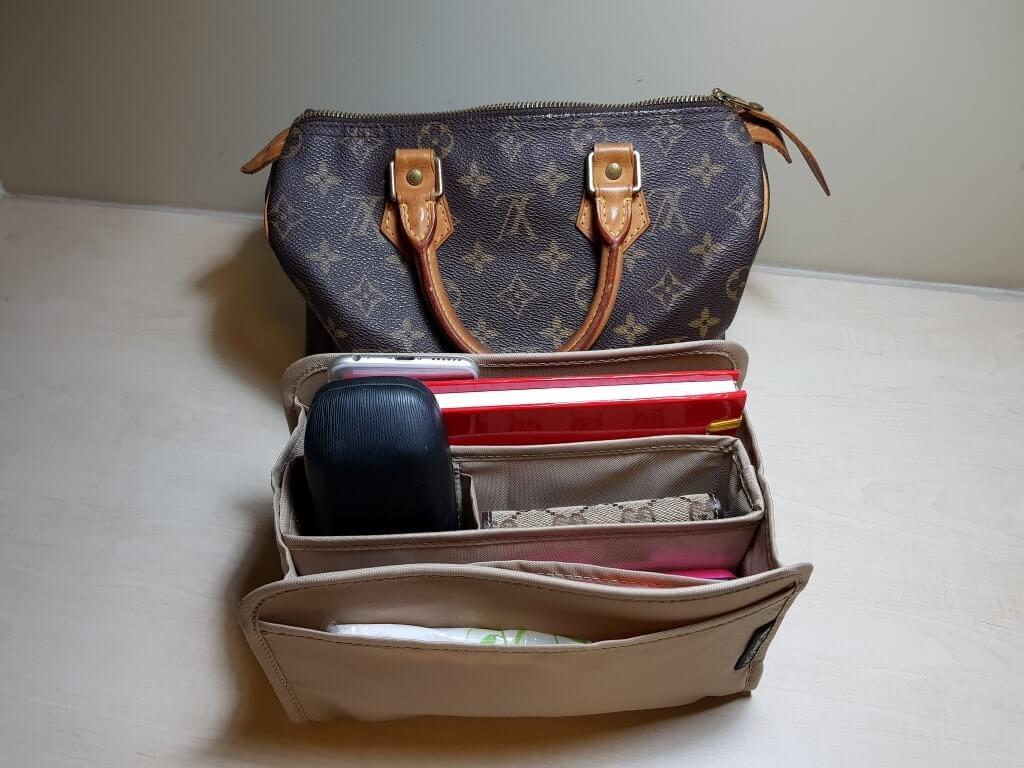 a502e105a92 Purse Organizer and Base shaper for Louis Vuitton Speedy 25 | CloverSac